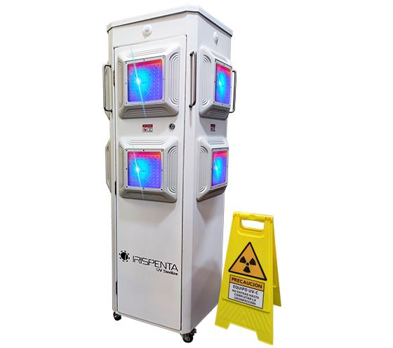 7 opciones en desinfección por luz LED de UV-C